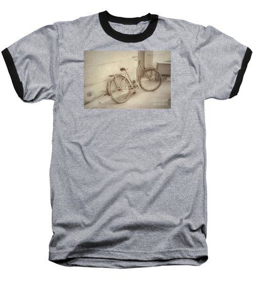 Rusty Bicycle Baseball T-Shirt
