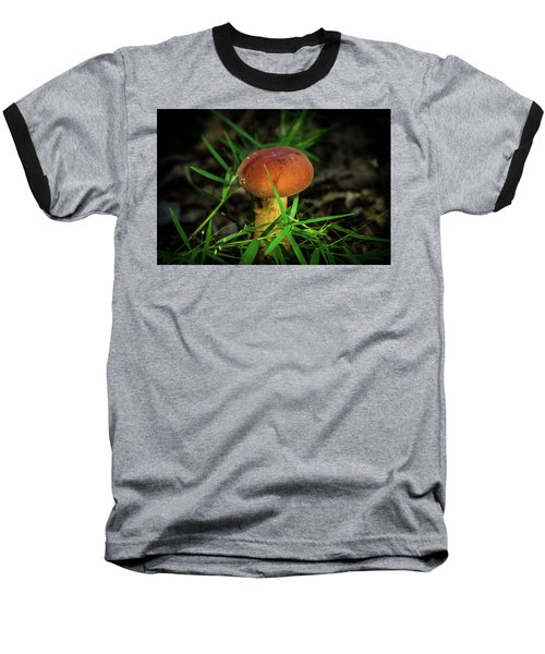 Rusty Brown Plyporacead Amid The Grass Baseball T-Shirt