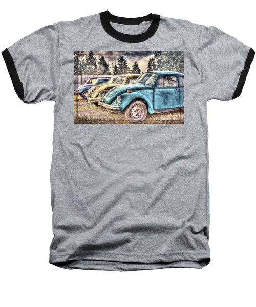Baseball T-Shirt featuring the photograph Rusty Bugs by Jean OKeeffe Macro Abundance Art