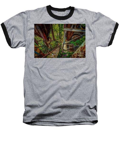 Rusty Climb Baseball T-Shirt