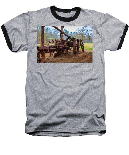 Rusty Farming Baseball T-Shirt