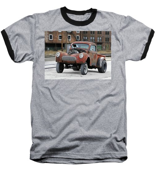Rusty Gasser Baseball T-Shirt by Christopher McKenzie