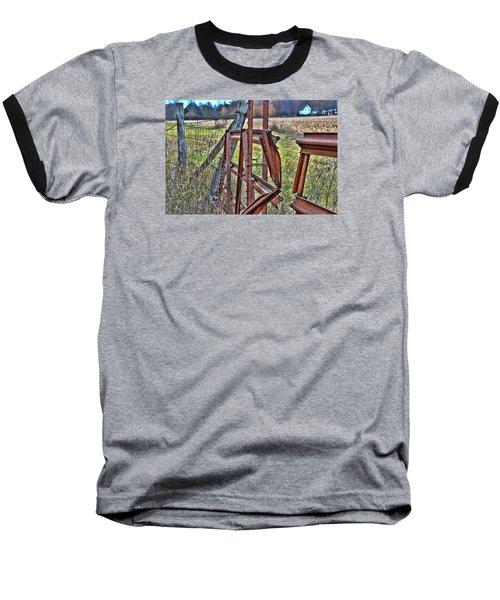 Rusty Gate Baseball T-Shirt by Pat Cook