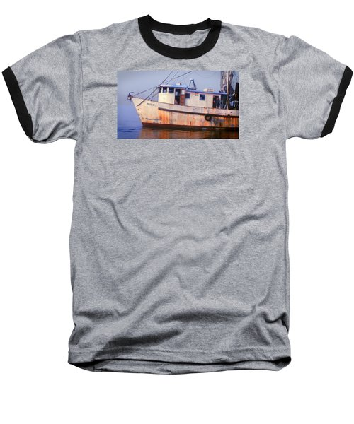 Rusty II And Crew Baseball T-Shirt by Laura Ragland