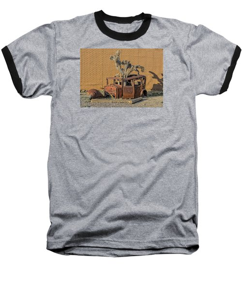 Rusty In The Desert Baseball T-Shirt