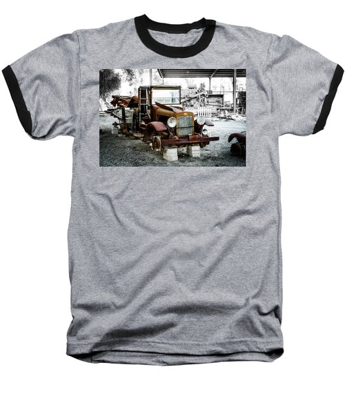 Rusty International Truck Baseball T-Shirt