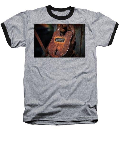 Rusty Lock Baseball T-Shirt