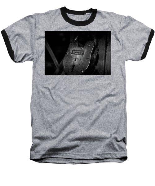 Rusty Lock In Bw Baseball T-Shirt
