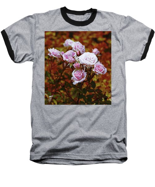 Rusty Romance In Pink Baseball T-Shirt