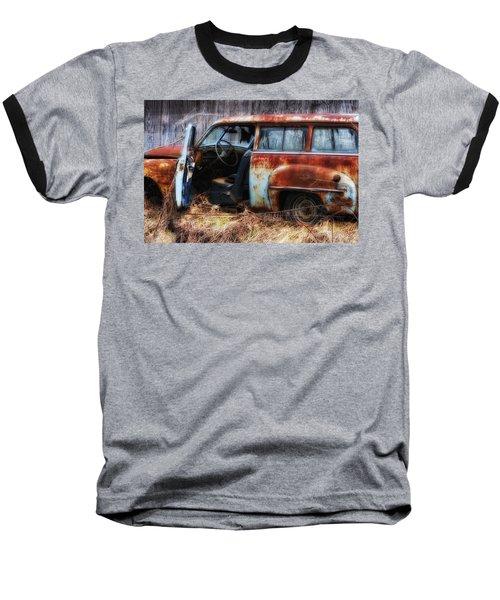 Rusty Station Wagon Baseball T-Shirt