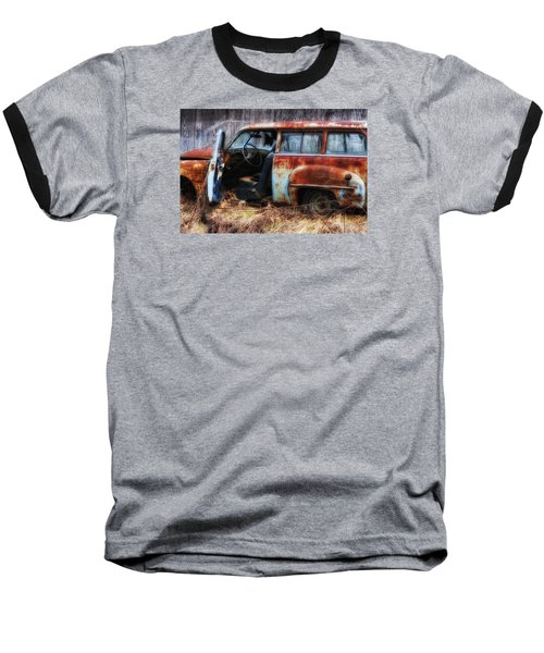 Rusty Station Wagon Baseball T-Shirt