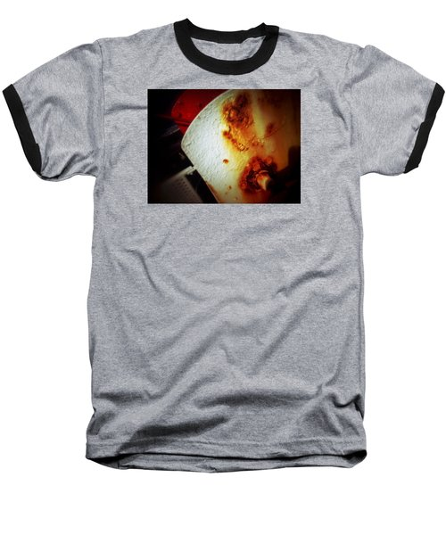 Baseball T-Shirt featuring the photograph Rusty Winch by Olivier Calas