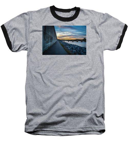 Rva Flood Wall Baseball T-Shirt
