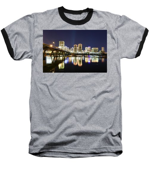 Rva Night Lights Baseball T-Shirt