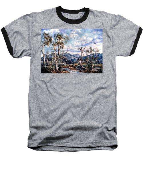 Rwetyepme, Mount Sonda Central Australia Baseball T-Shirt