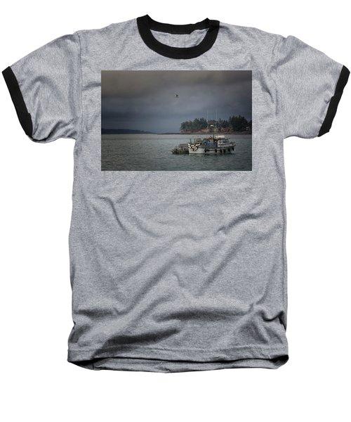 Ryan D Baseball T-Shirt by Randy Hall