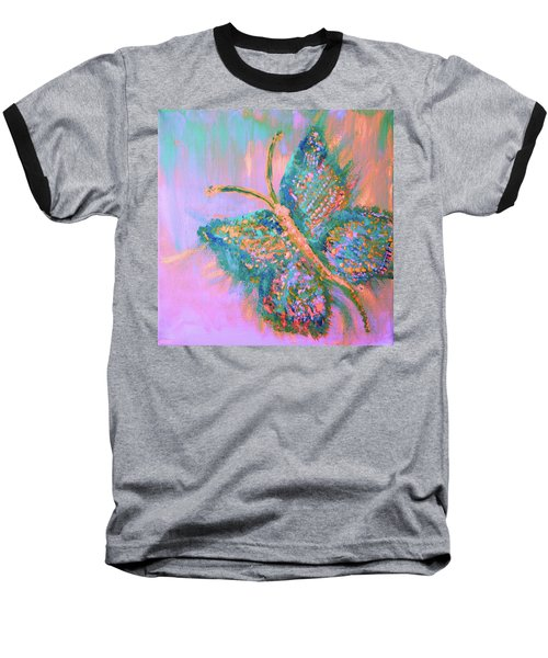 Ryans Butterfly Baseball T-Shirt