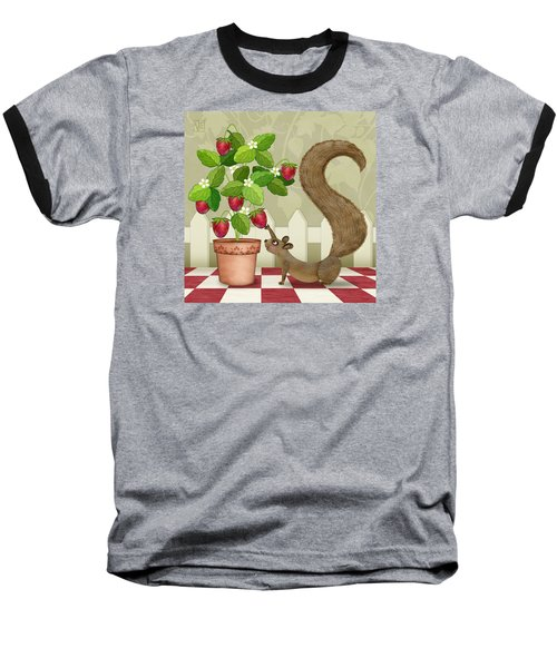 S Is For Squirrel Baseball T-Shirt