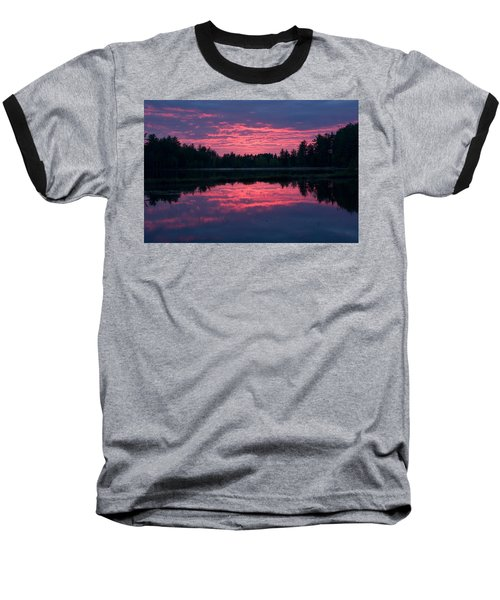Sabao Sunset 01 Baseball T-Shirt by Brent L Ander