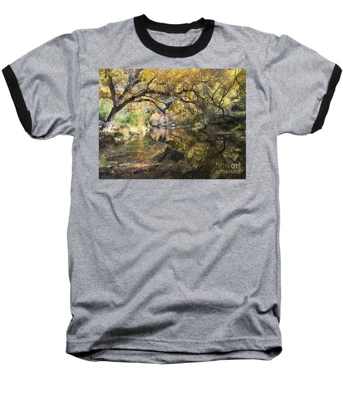 Sabino Canyon In Fall Baseball T-Shirt
