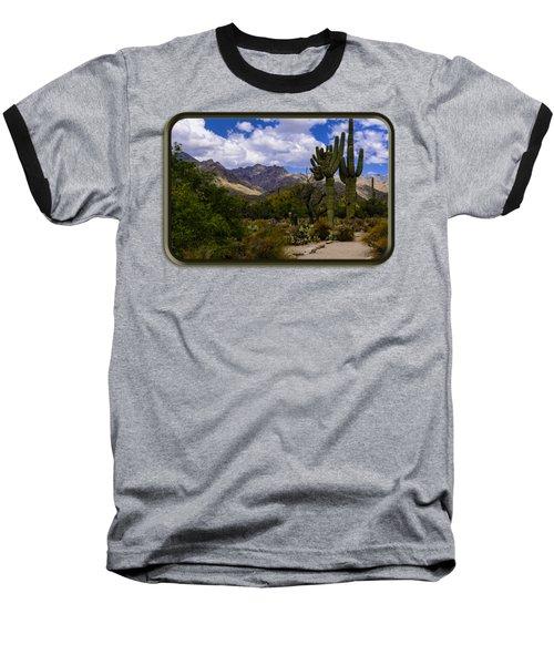 Sabino Canyon No4 Baseball T-Shirt