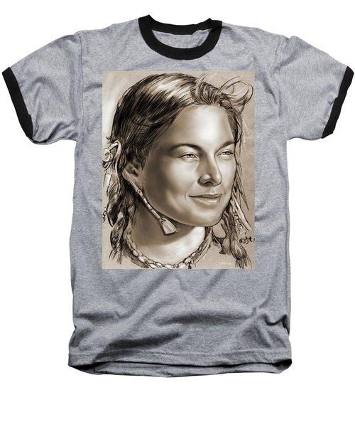 Sacagawea 2 Baseball T-Shirt