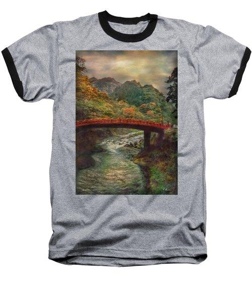 Baseball T-Shirt featuring the photograph Sacred Bridge by Hanny Heim