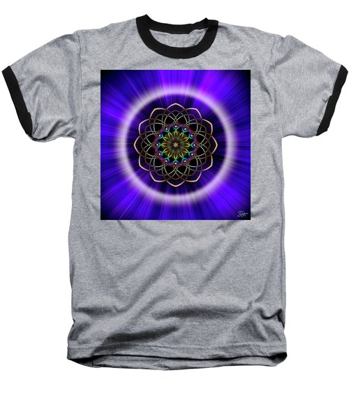 Sacred Geometry 242 Baseball T-Shirt