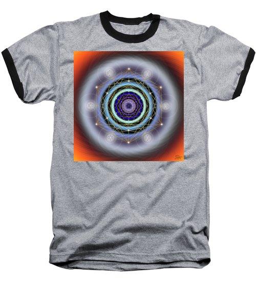 Sacred Geometry 640 Baseball T-Shirt