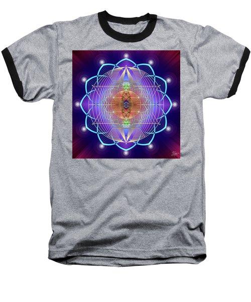 Sacred Geometry 641 Baseball T-Shirt