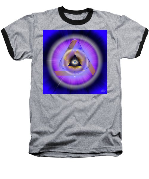 Sacred Geometry 642 Baseball T-Shirt