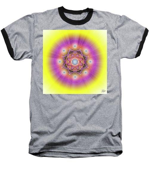 Sacred Geometry 643 Baseball T-Shirt