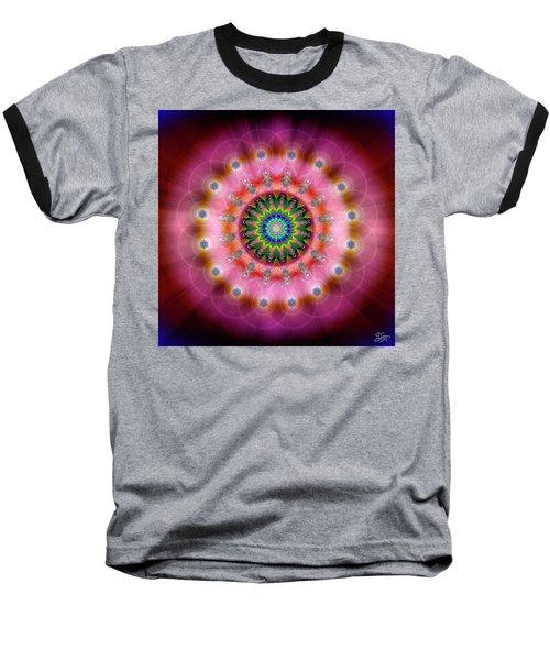 Sacred Geometry 644 Baseball T-Shirt
