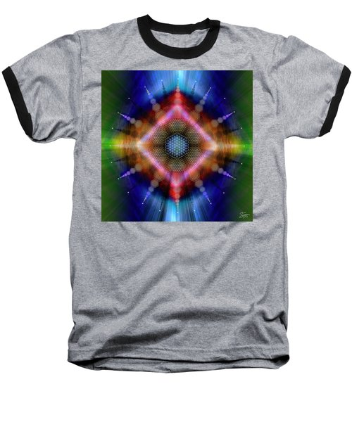 Sacred Geometry 645 Baseball T-Shirt