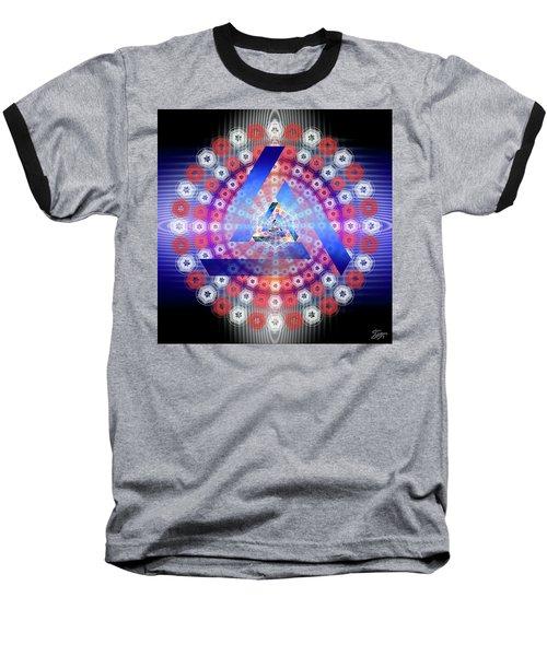 Sacred Geometry 646 Baseball T-Shirt