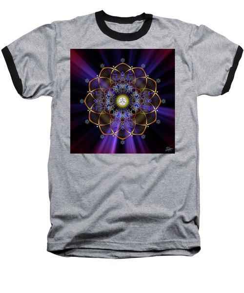 Sacred Geometry 647 Baseball T-Shirt