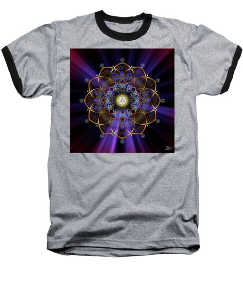 Sacred Geometry 647 Baseball T-Shirt