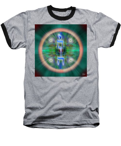 Sacred Geometry 648 Baseball T-Shirt