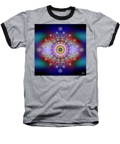 Sacred Geometry 650 Baseball T-Shirt