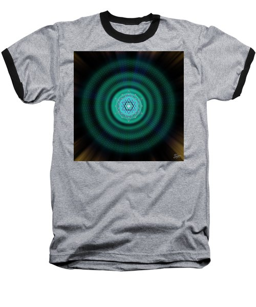 Sacred Geometry 651 Baseball T-Shirt