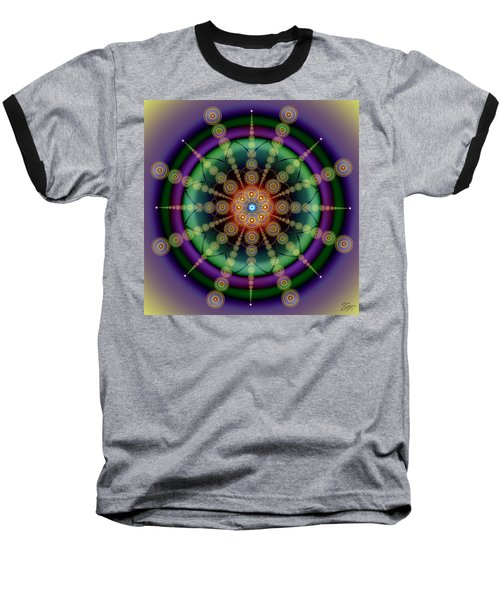 Sacred Geometry 652 Baseball T-Shirt