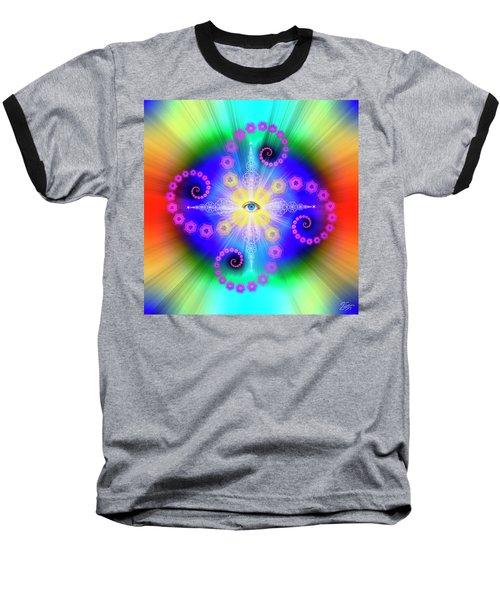 Sacred Geometry 653 Baseball T-Shirt