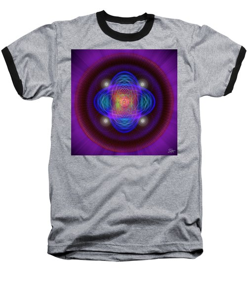 Sacred Geometry 654 Baseball T-Shirt