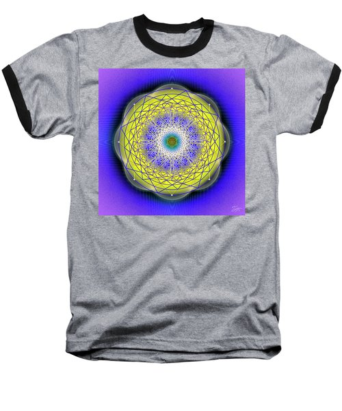 Sacred Geometry 655 Baseball T-Shirt