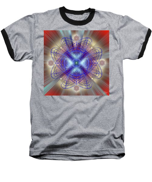 Sacred Geometry 656 Baseball T-Shirt