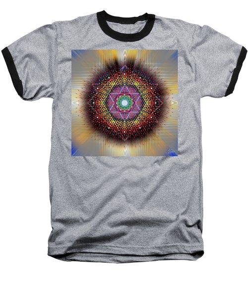 Sacred Geometry 657 Baseball T-Shirt