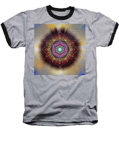 Sacred Geometry 657 Baseball T-Shirt