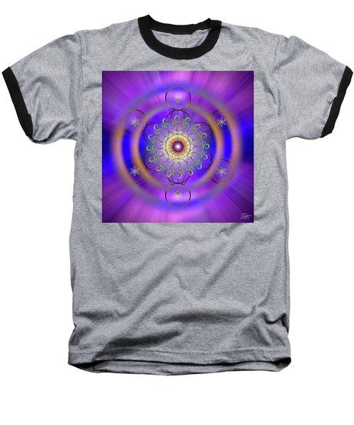 Sacred Geometry 658 Baseball T-Shirt