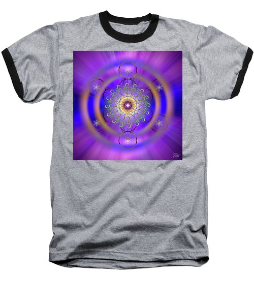 Sacred Geometry 658 Baseball T-Shirt