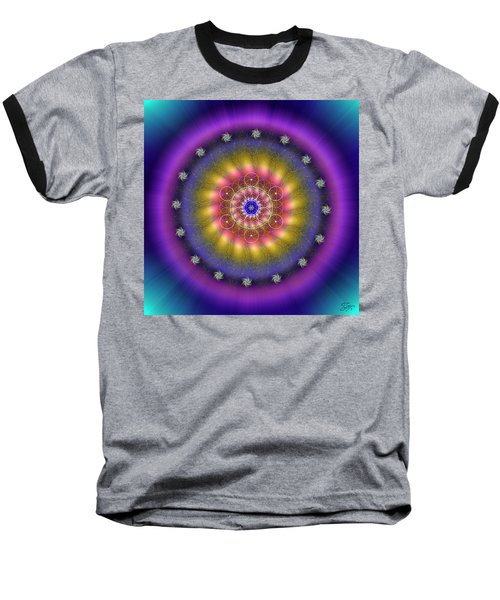Sacred Geometry 659 Baseball T-Shirt